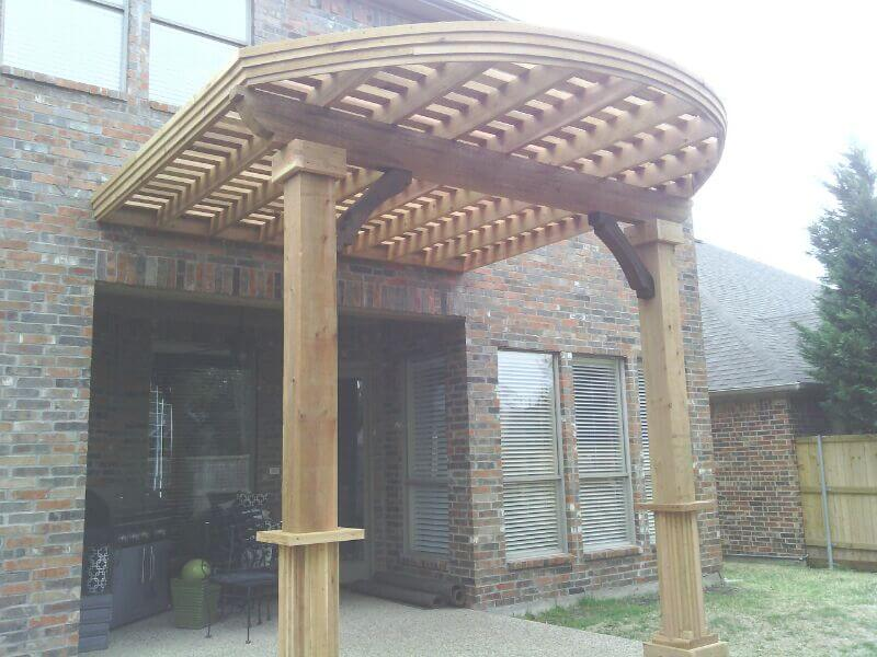 arbor curved front